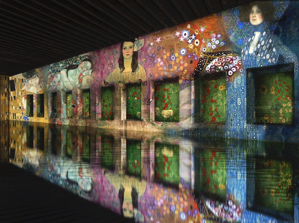 Gustav Klimt Exhibition at Bassins de Lumieres