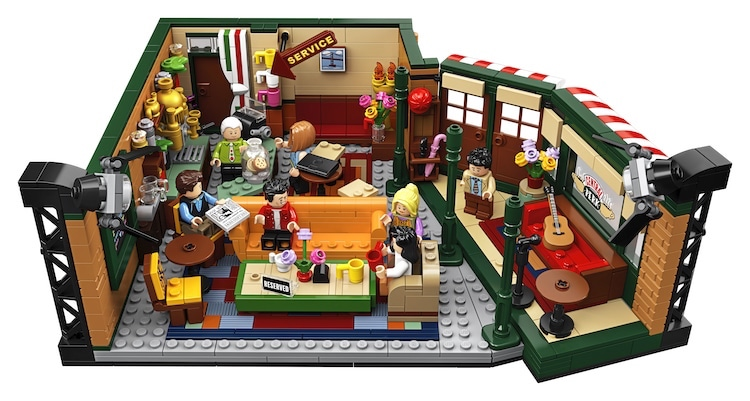 Friends LEGOs Central Perk