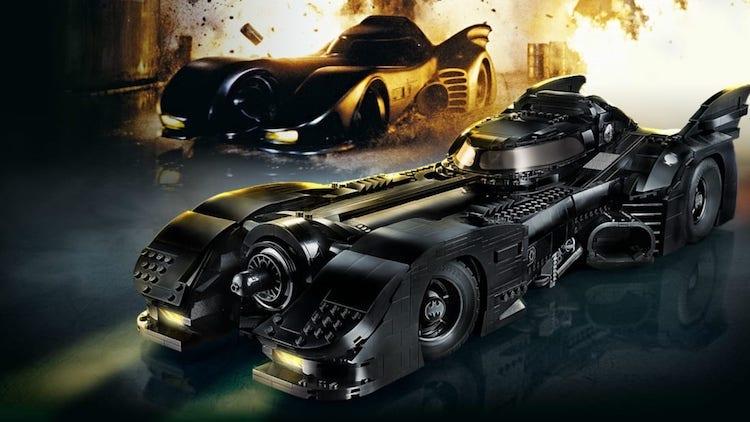 Kit de LEGO del Batimóvil