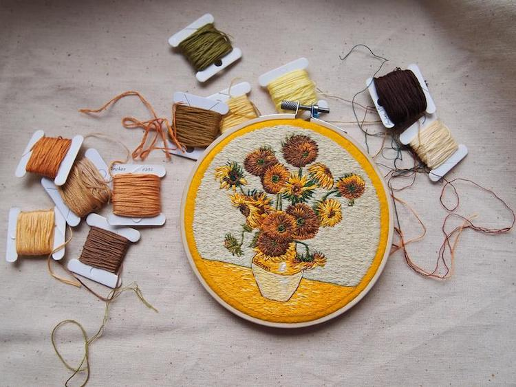 Hand Embroidered Art