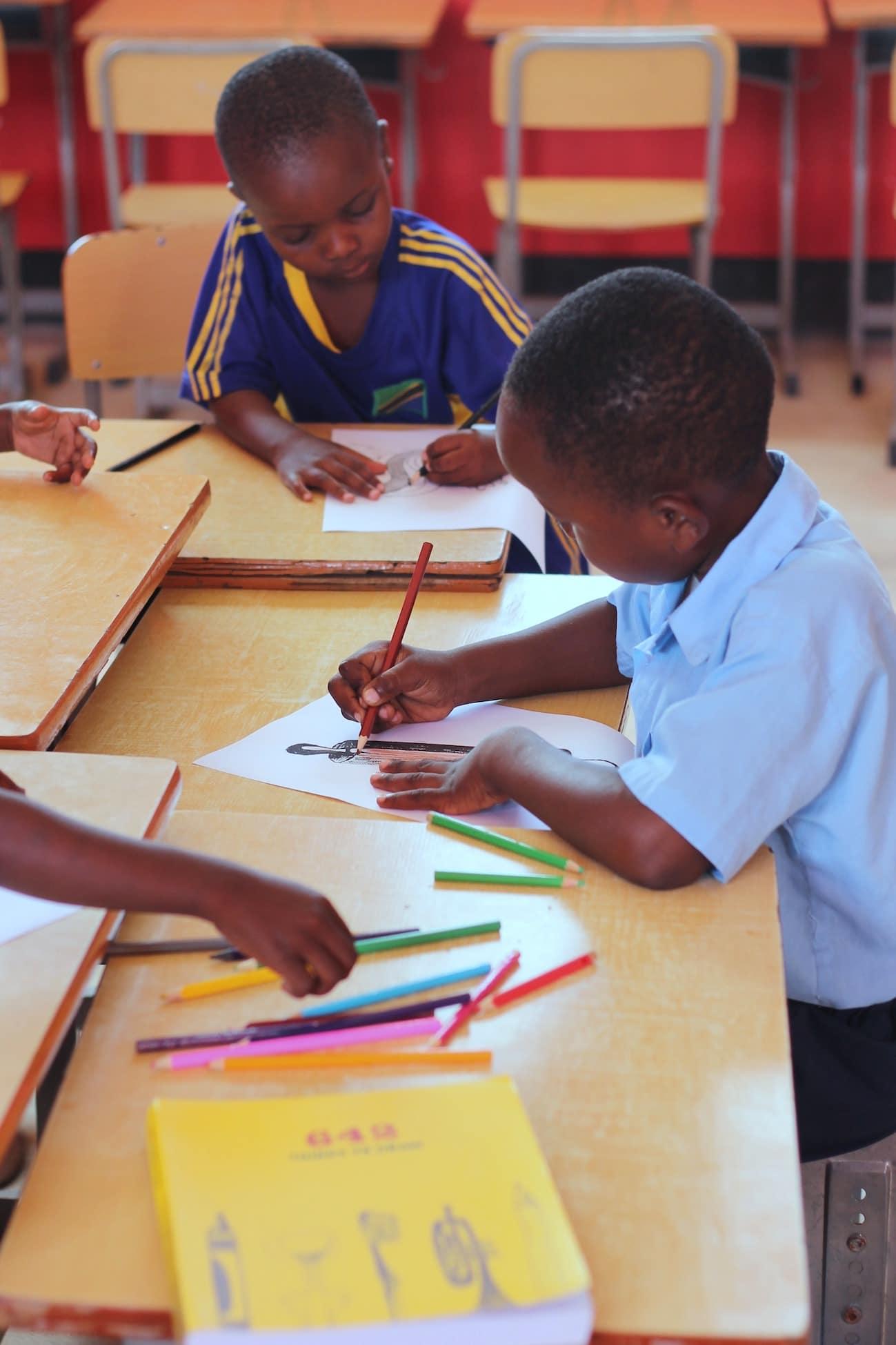 Busungu Community Center, an NGO School