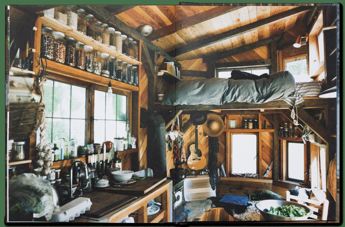 Cabin Porn Interior Book
