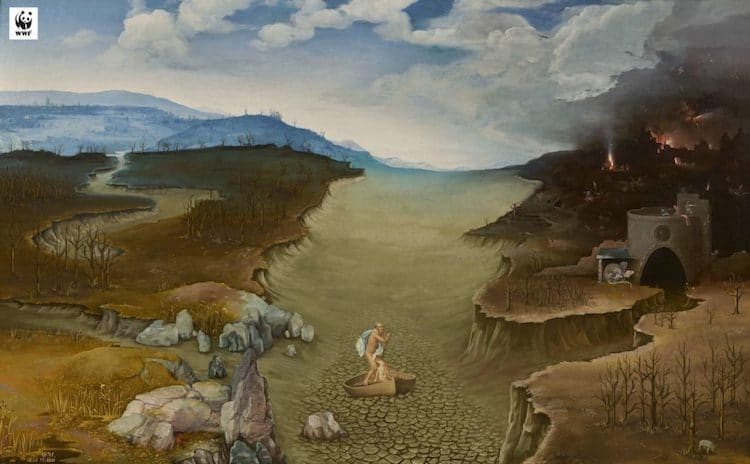 Climate Change Paintings by Museo del Prado and WWF