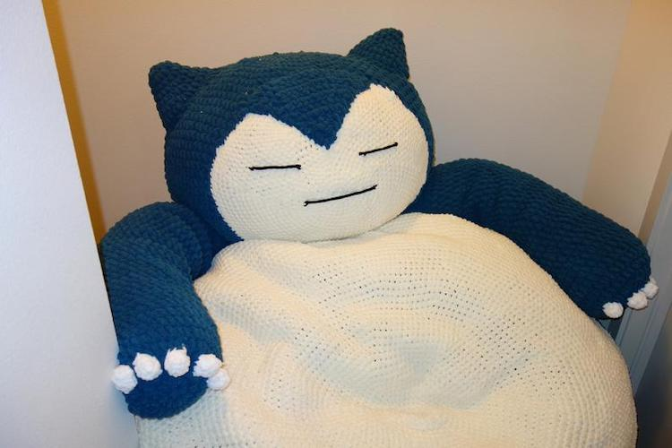 Bean bag de Snorlax