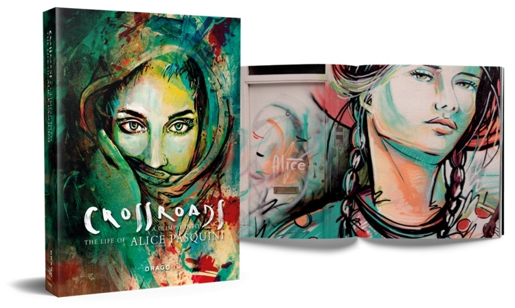 Book About Alice Pasquini - Street Artist