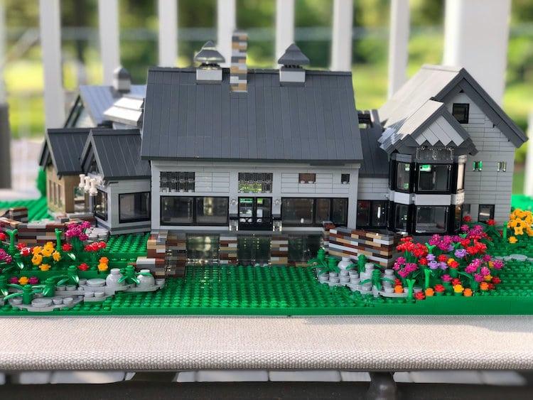 Custom LEGO House