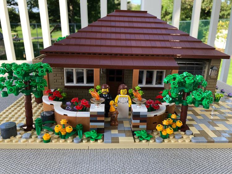 Custom LEGO Built House