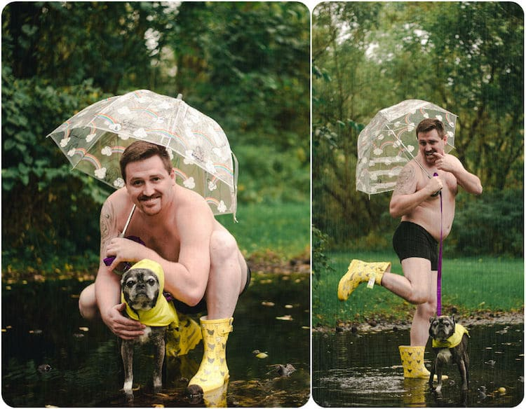 Dad Bods Rescue Dogs 2020 Calendar