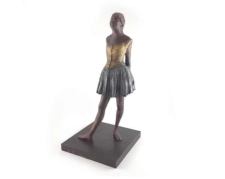 Personalized Degas Sculpture
