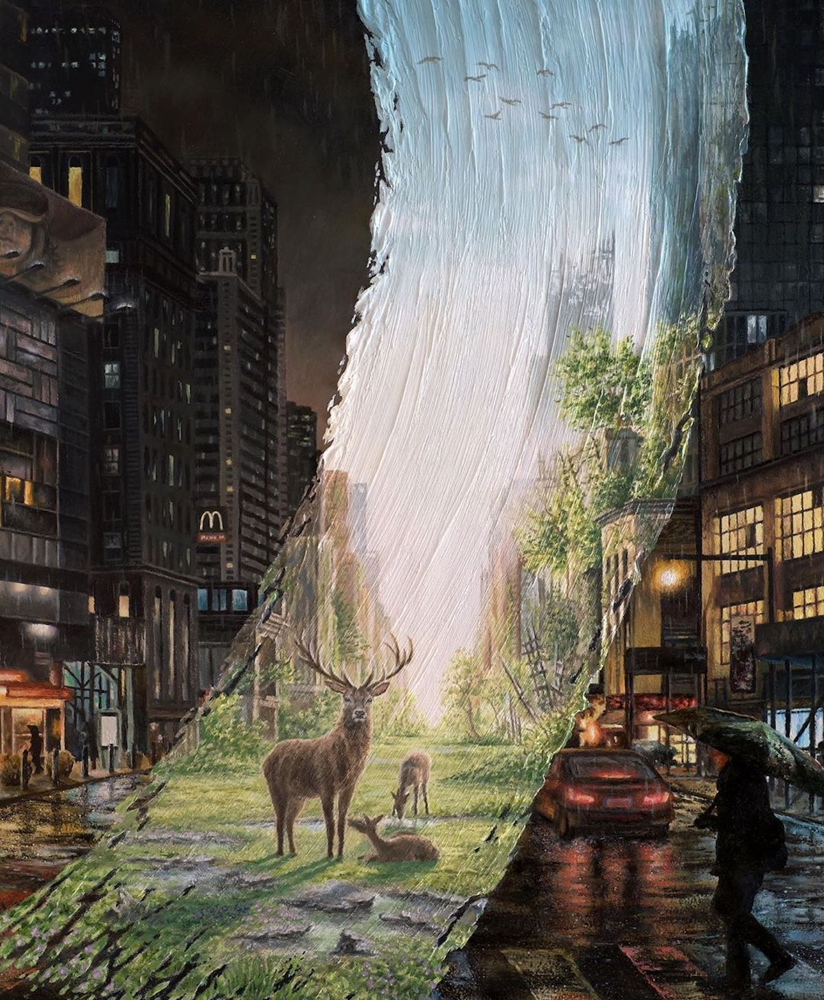 Surreal Landscape Painting