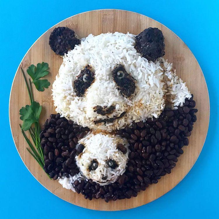 Animal Food Art