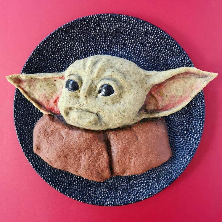 Baby Yoda Food Art