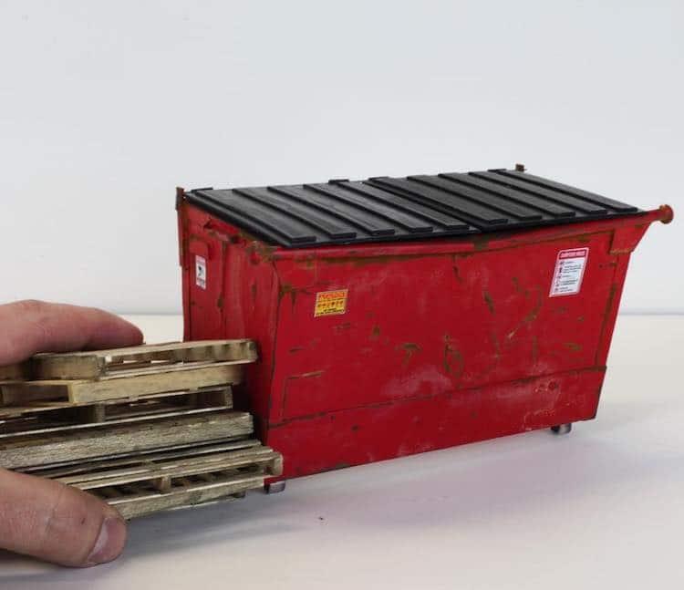 Scale Model Dumpster
