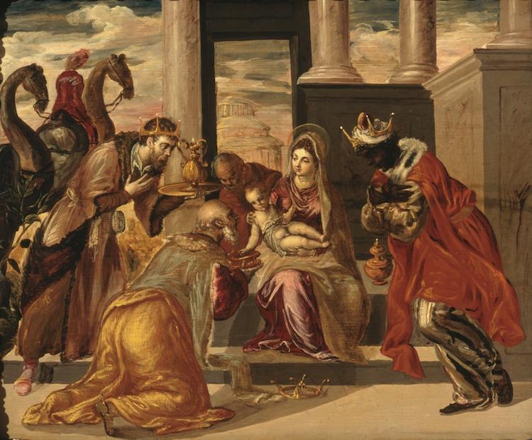 El Greco Adoration of the Magi