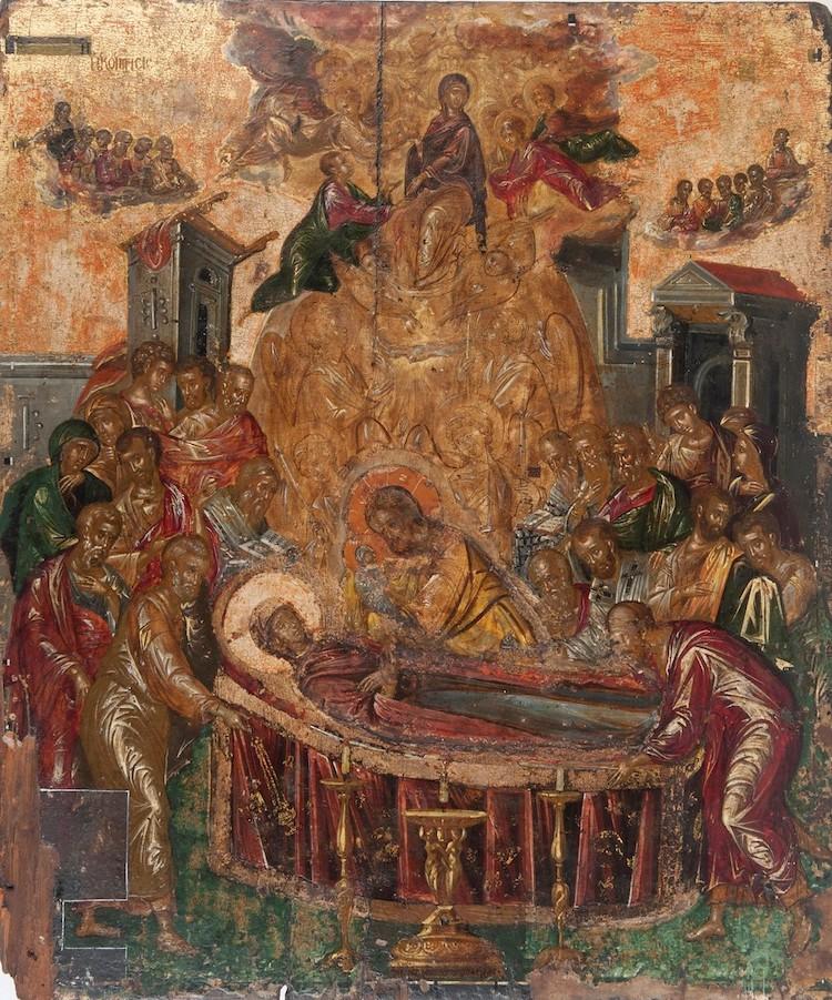 El Greco Dormition of the Virgin