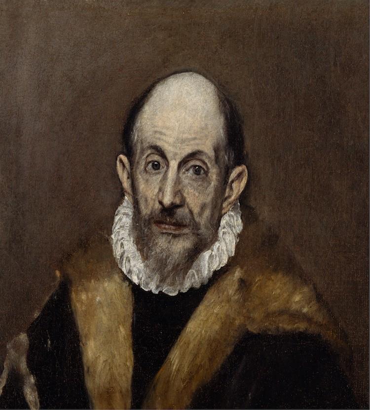 El Greco Portrait of a Man