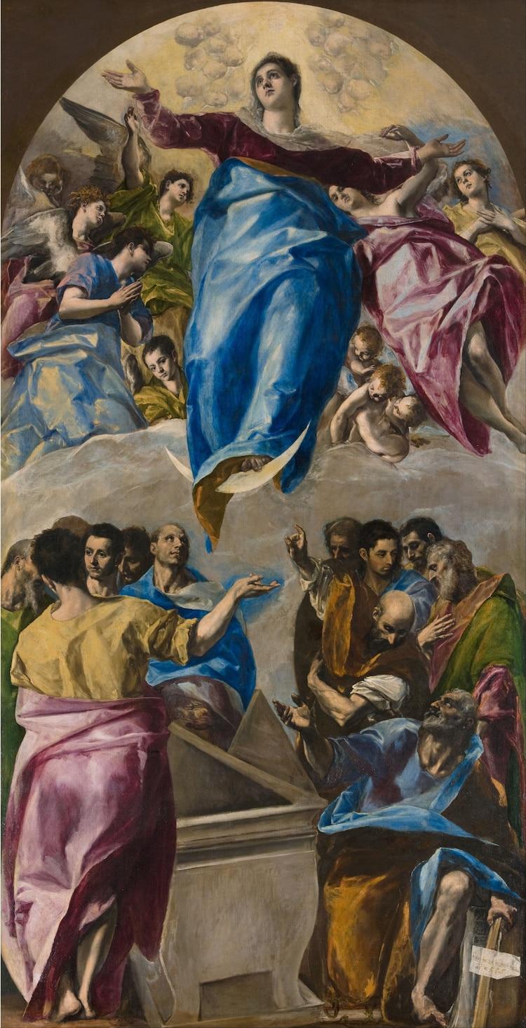 El Greco asuncion de la virgen
