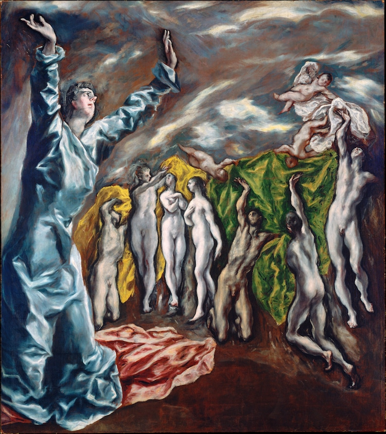 El Greco Painting The Vision of Saint John