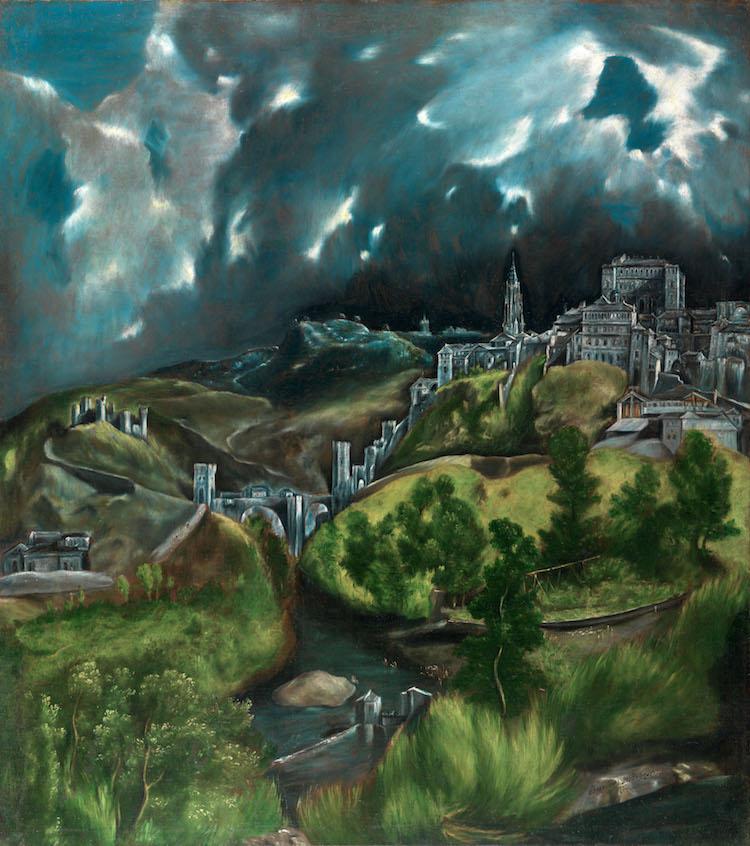 El Greco Painting View of Toledo