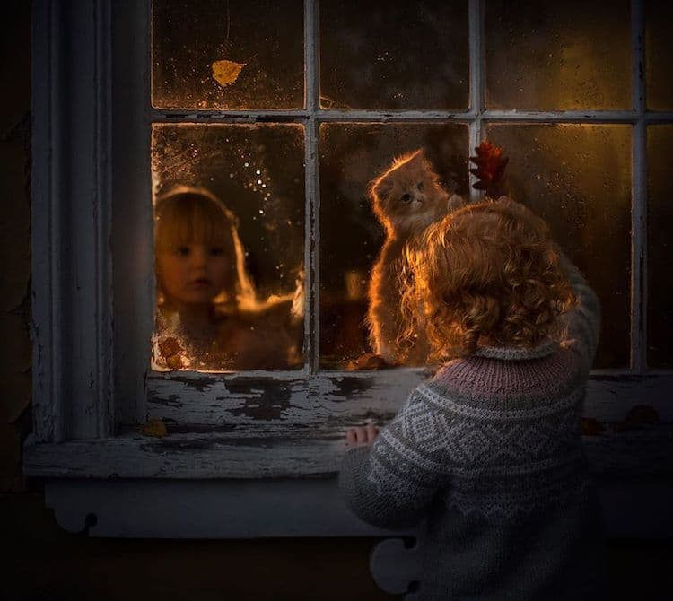 Dreamy Portraits of Kids by Elena Shumilova