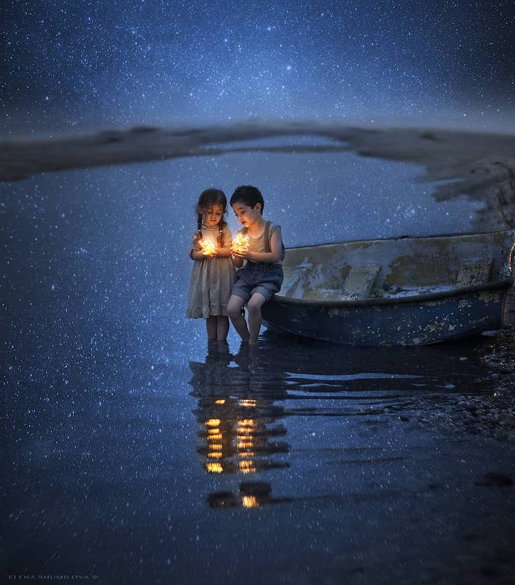 Photographs of Kids by Elena Shumilova