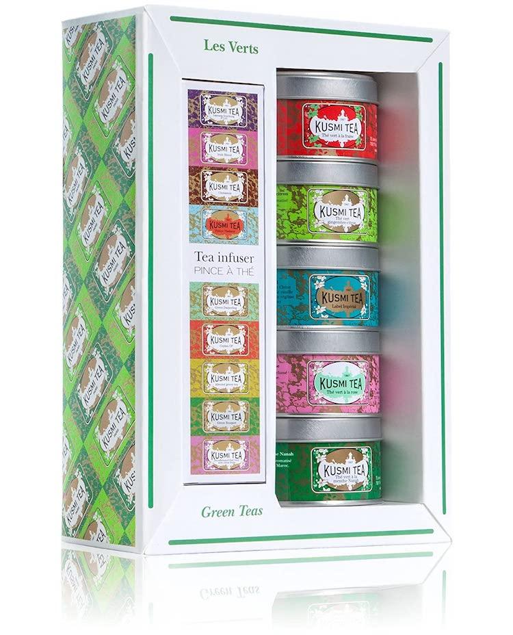 Green Tea Sampler by Kusmi