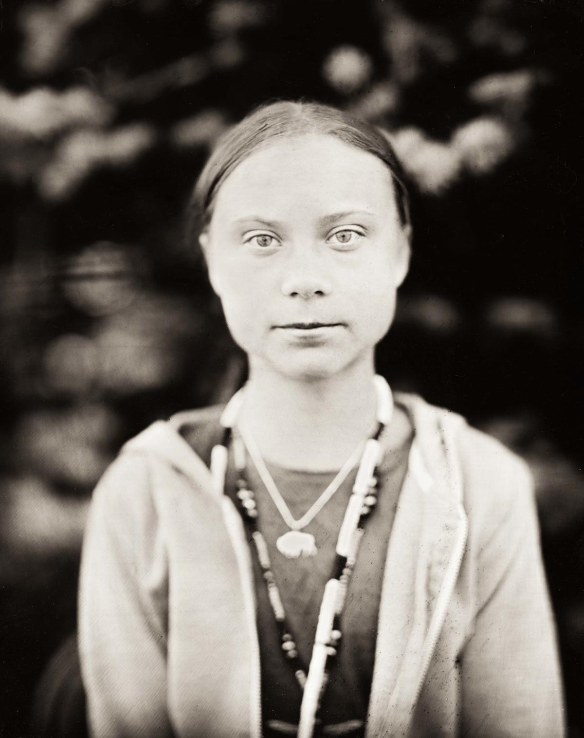 Greta Thunberg Portrait by Shane Balkowitsch