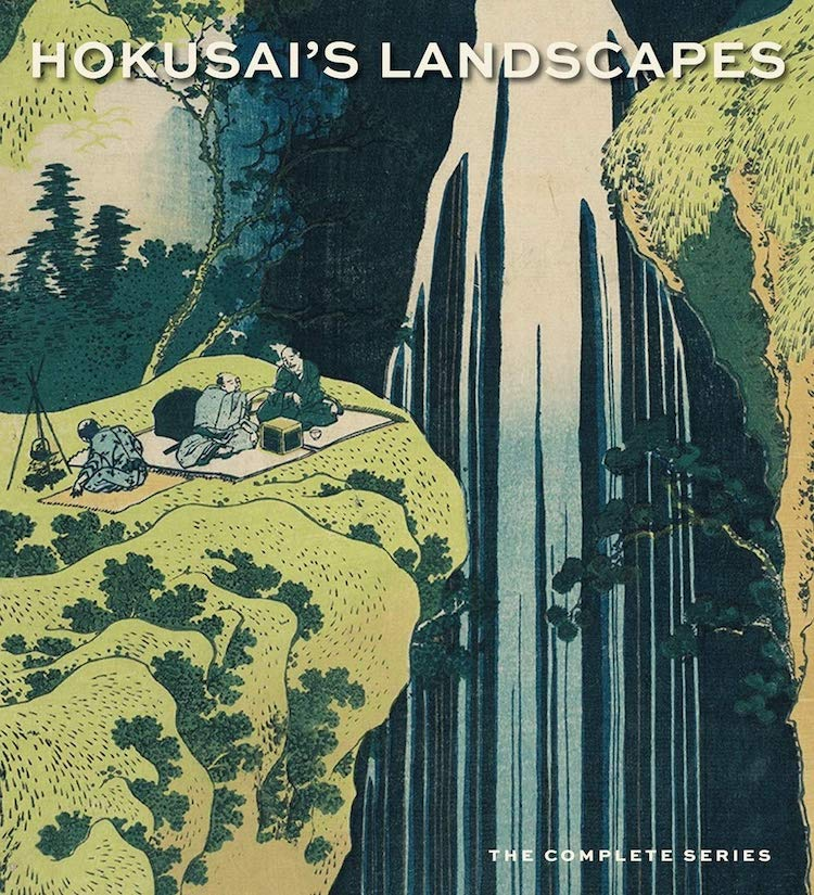 Hokusai's Landscapes Art Book