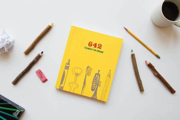 libro para dibujar en ingles