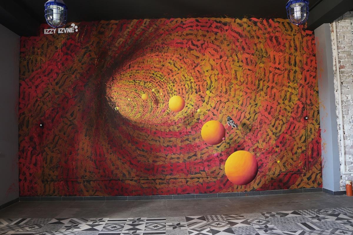 Mural tridimensional
