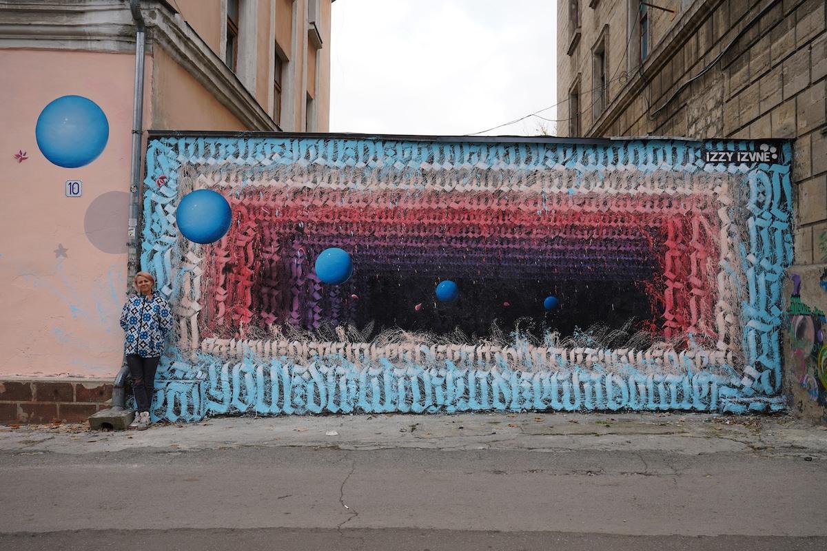 Arte callejero de Moldavia