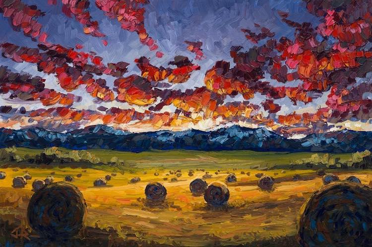 Joe Reimer paisajes canadienses