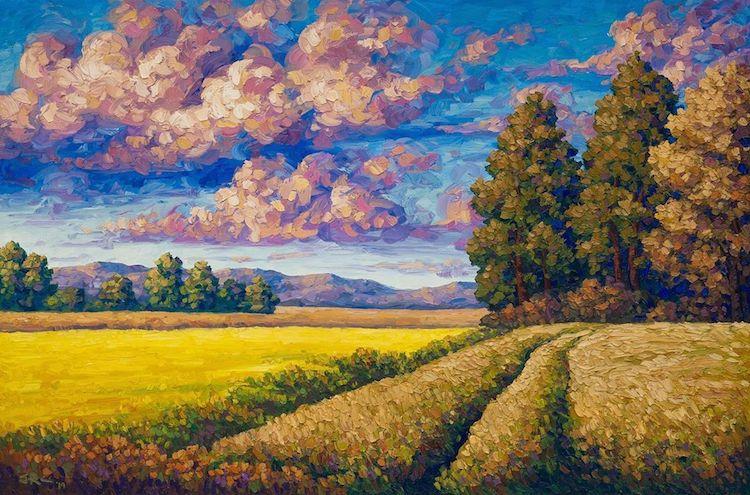 Joe Reimer pintura de paisajes