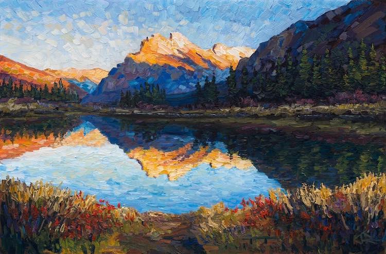 Joe Reimer pintura impresionista