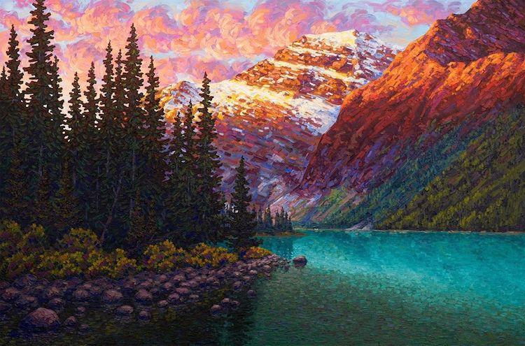 Joe Reimer pinturas de paisajes
