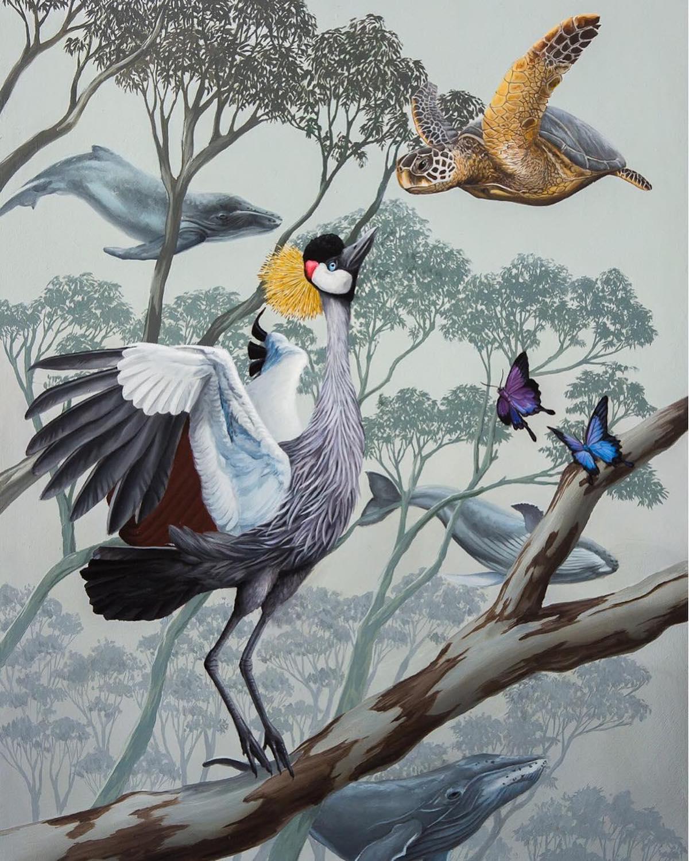 Surreal Animal Art by Jon Ching