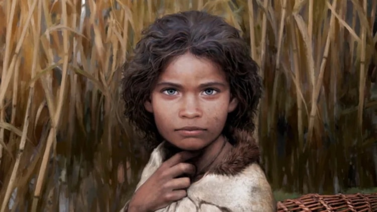 Lola - Neolithic Girl Reconstructed from Prehistoric DNA