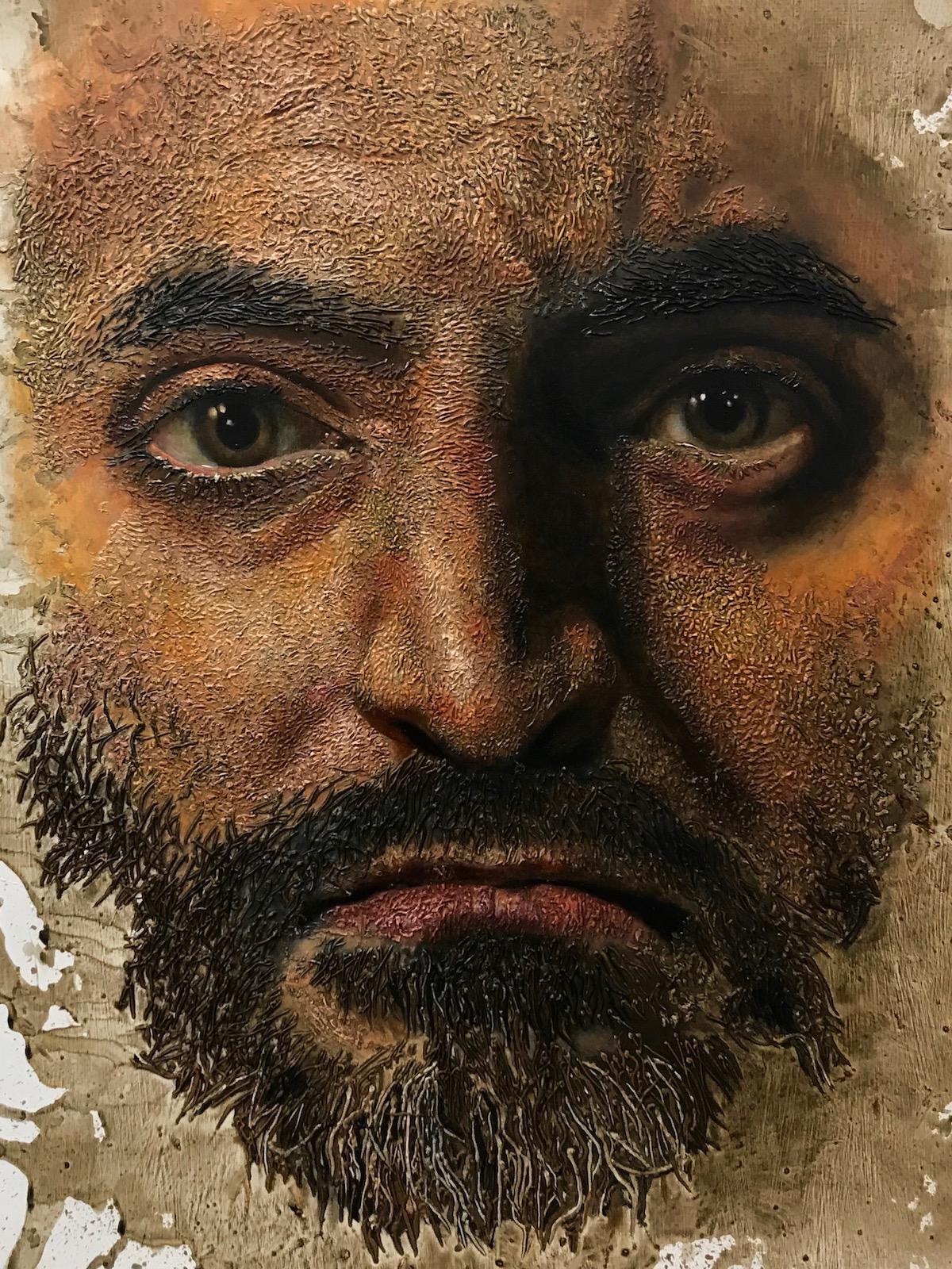 Michael Goodson Large Format Portrait Paintings