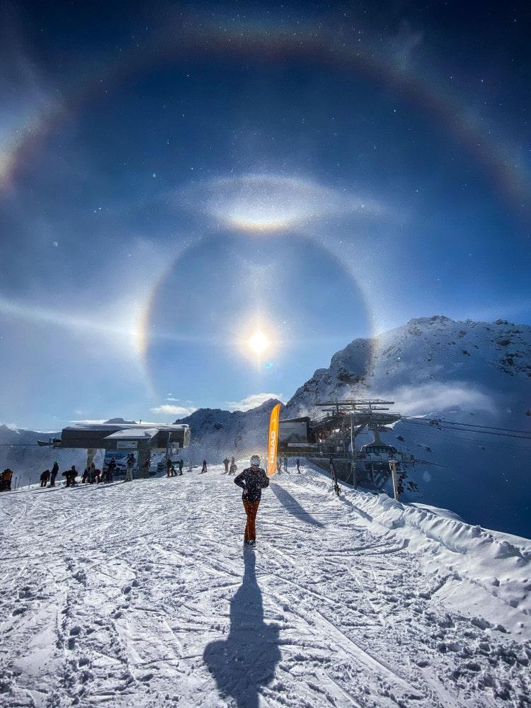 Light Halo by Michael Schneider