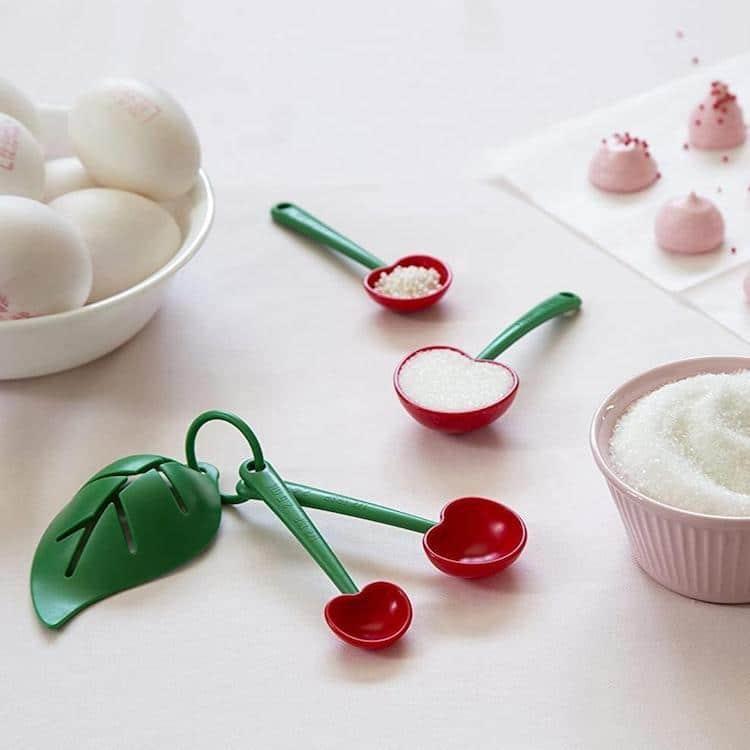 Mon Cherry Measuring Spoons