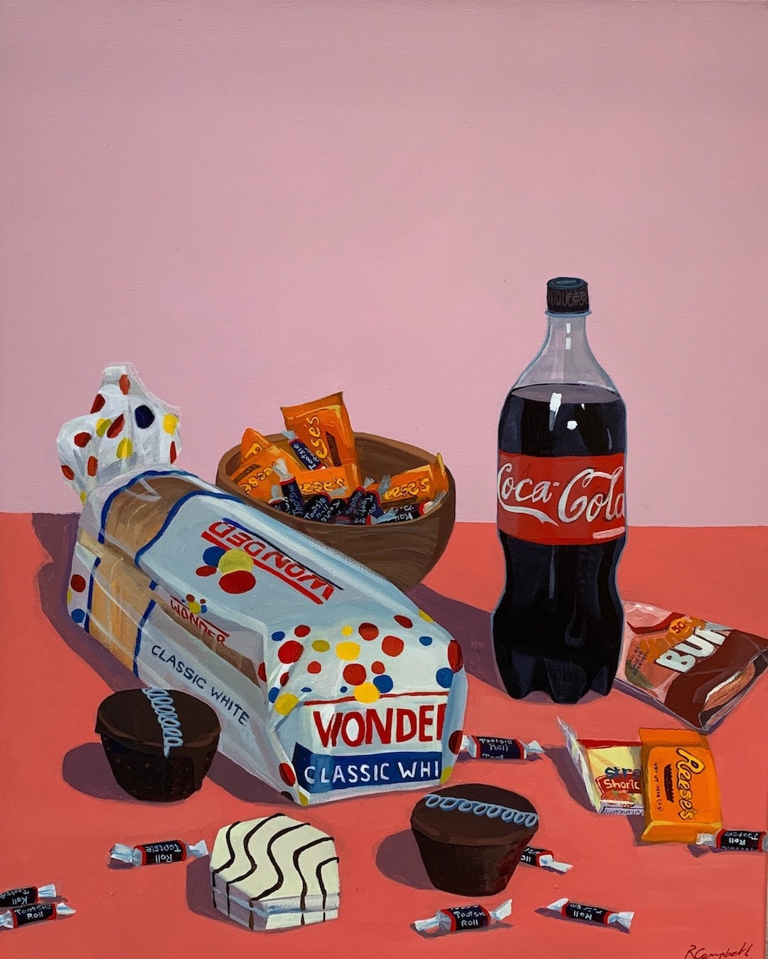 Oil Paintings by Rachel Campbell