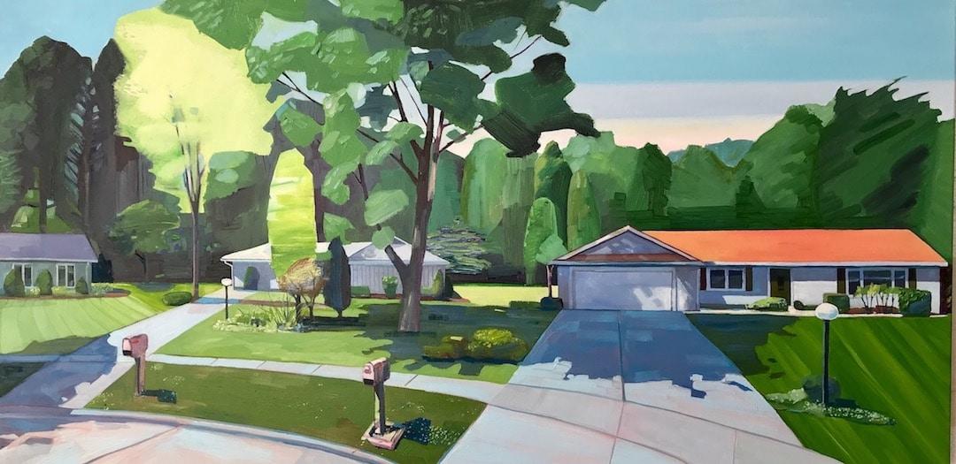 Pinturas al óleo de Rachel Campbell