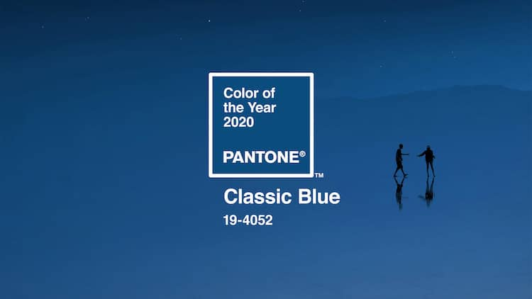 Color del año pantone 2020
