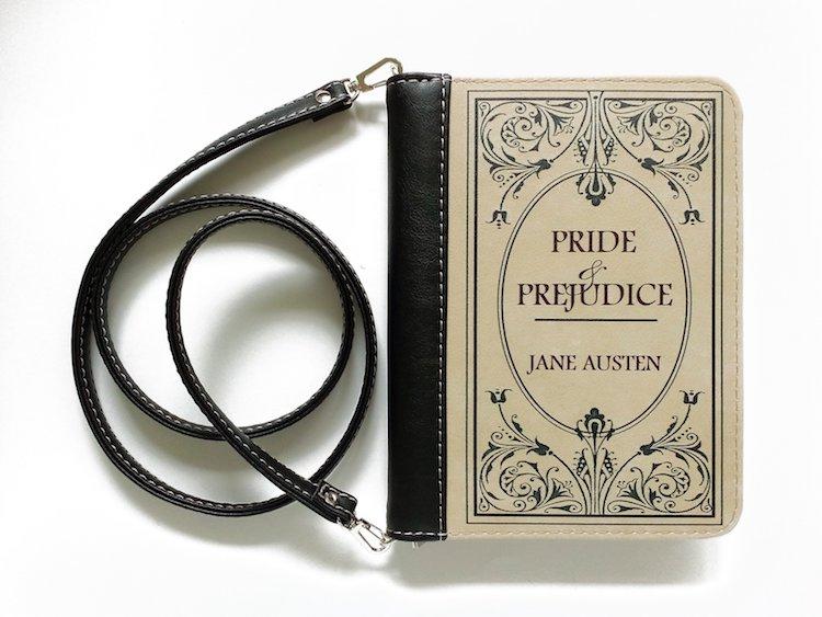 Pride and Prejudice Book Clutch