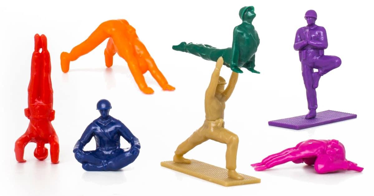 Rainbow Yoga Joes