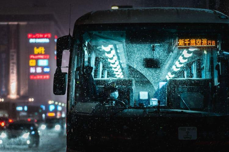 Bus in Japan