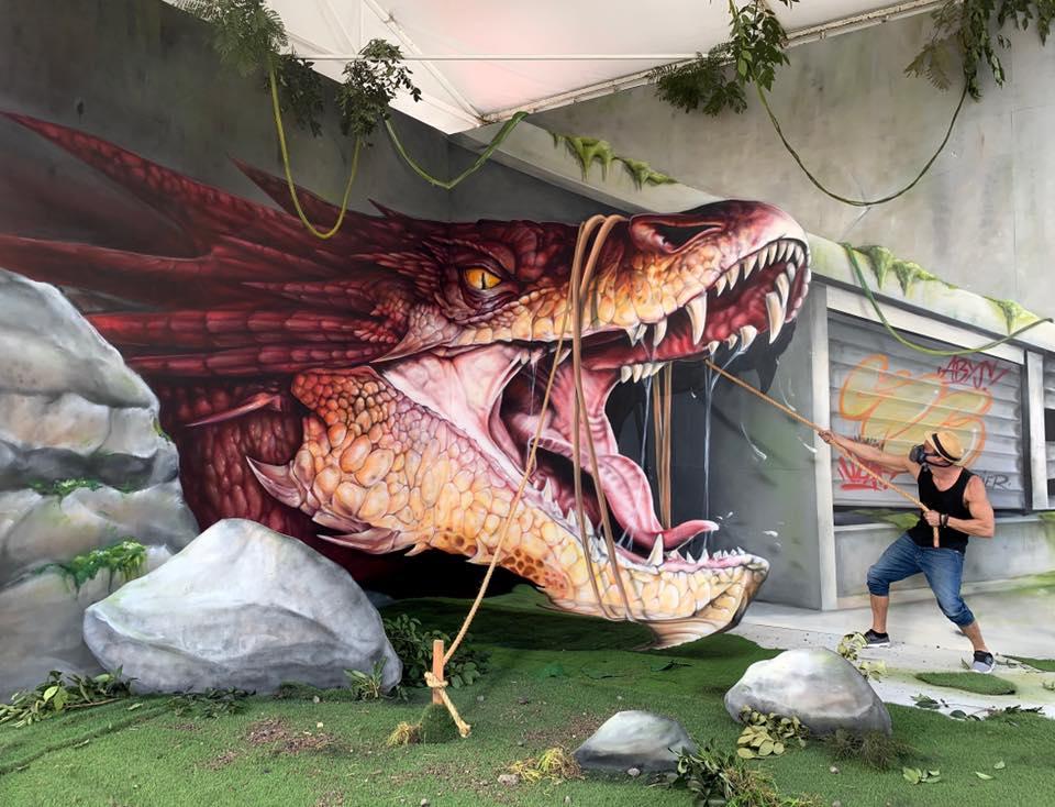 Trompe l'Oeil Graffiti