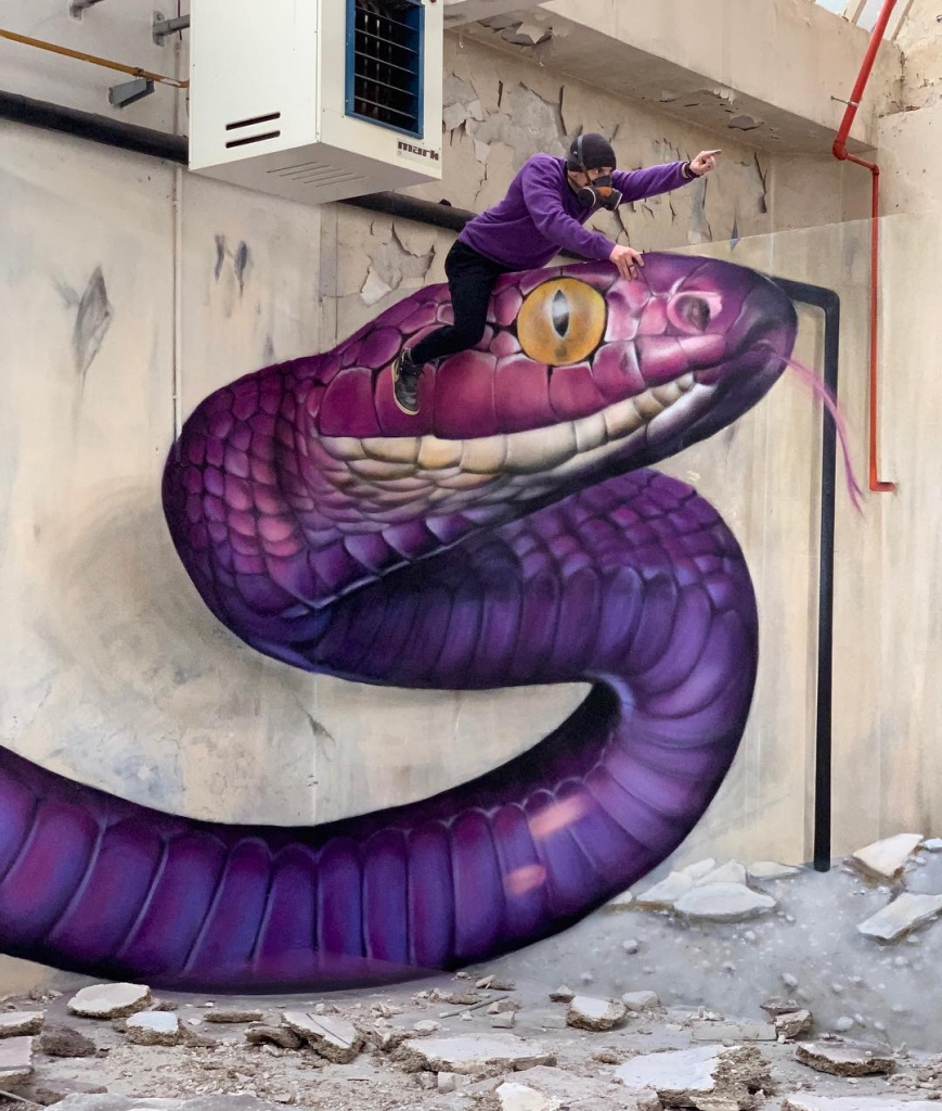 Scaf - Street Art Illusion