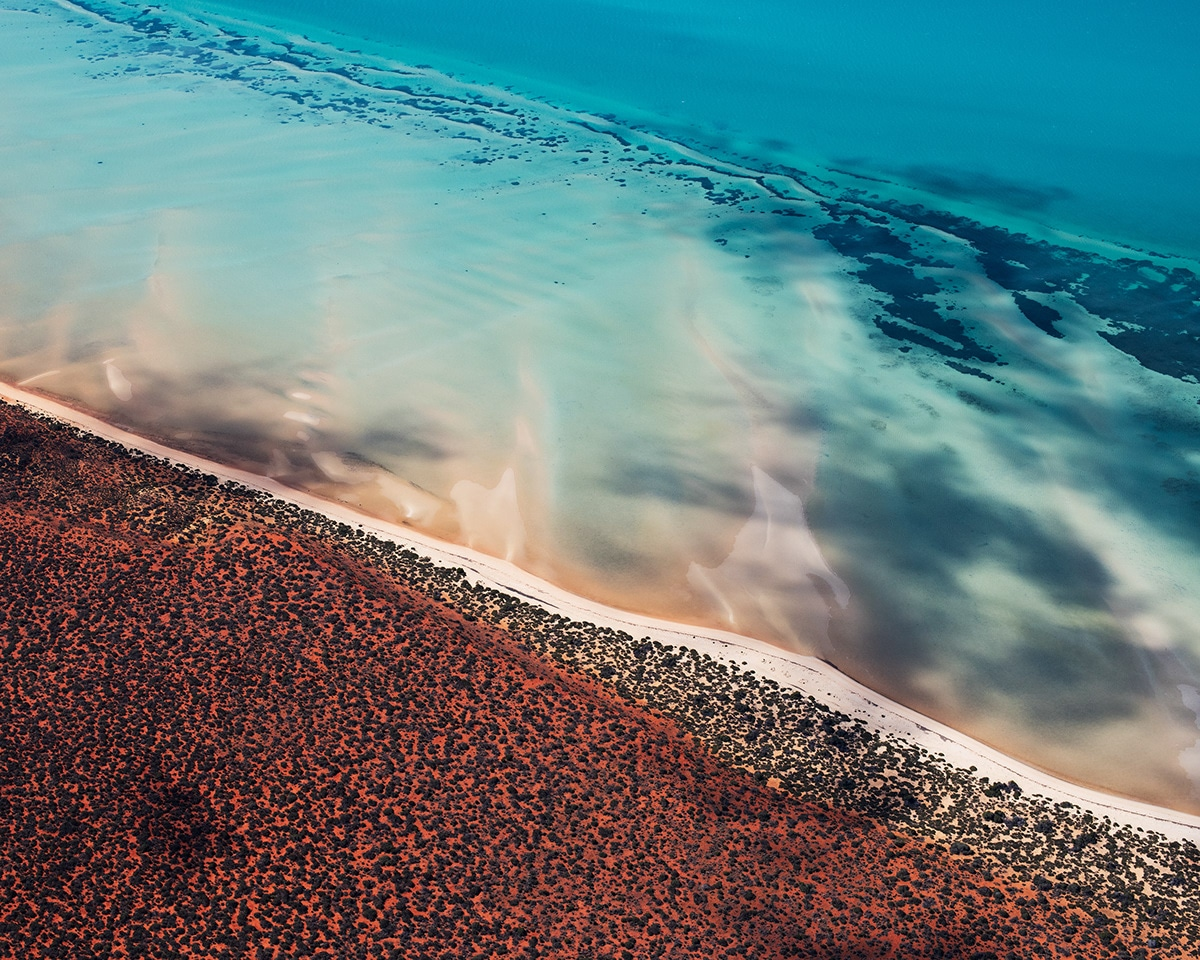 Shark Bay Aerial Photography by Jérôme Berbigier