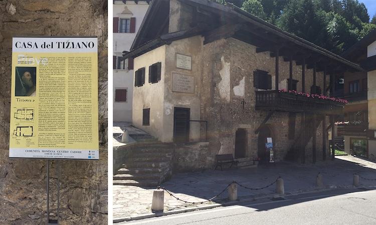 Titian House Pieve di Cadore